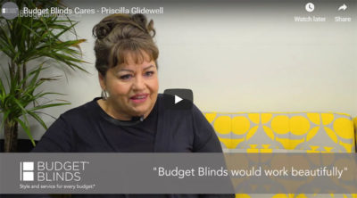 NATIONAL BUDGET BLINDS INITIATIVE SPOTLIGHTS FRANCHISEES WHO GIVE BACK