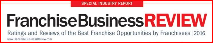 Franchise Business Review 2016 Winners