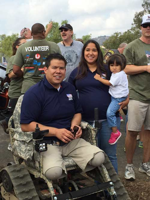 HFOT Corporal Garcia and Family