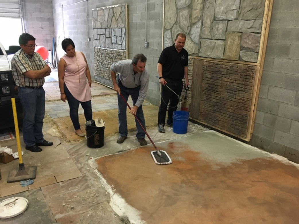 training for Concrete Craft